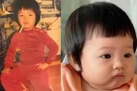 """Đàm Thu Trang """"đẻ thuê"""" thật rồi, Cường Đô La tung ảnh ngày bé không khác gì """"copy & paste"""" với Suchin"""