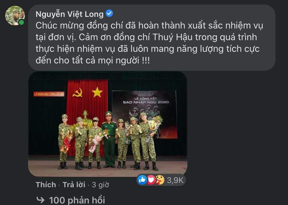 Mũi trưởng Long đáp lại lời cảm ơn của Hậu Hoàng thế nào mà khiến fan sôi sùng sục?-4
