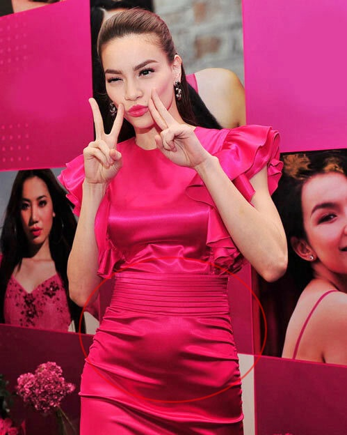 Diễm My 9X, Hồ Ngọc Hà lộ bụng lùm lùm vì chọn sai váy-4