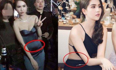 Diễm My 9X, Hồ Ngọc Hà lộ bụng lùm lùm vì chọn sai váy-6