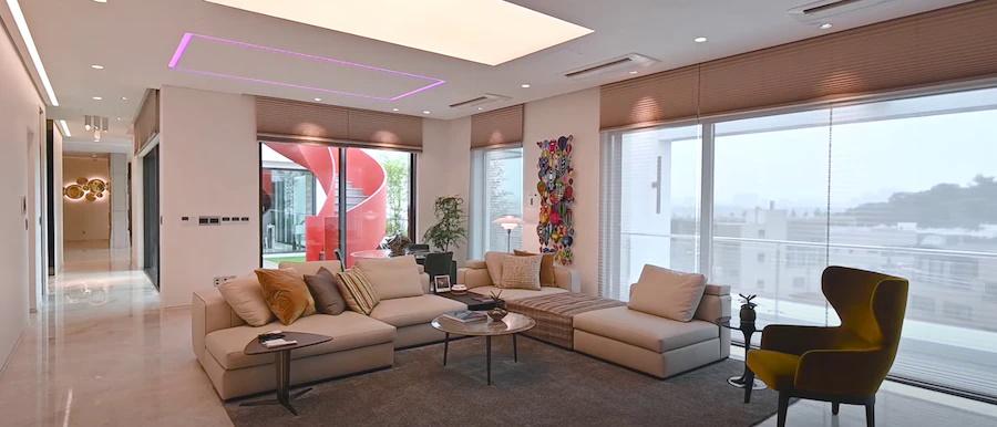 Cận cảnh từng không gian bên trong căn penthouse 106 tỷ của Hyun Bin-4