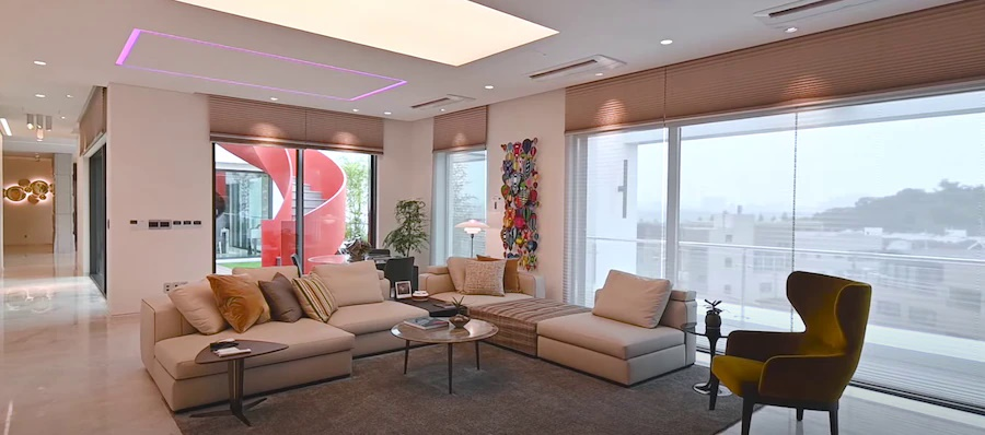 Cận cảnh từng không gian bên trong căn penthouse 106 tỷ của Hyun Bin-5