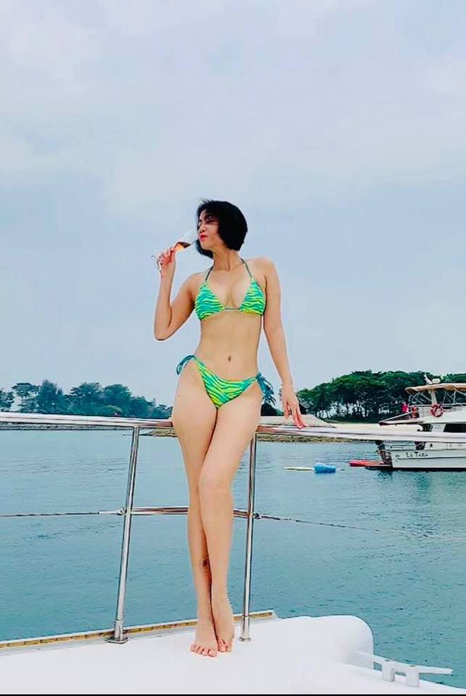 Mỹ nhân 7x Thu Minh khoe body nuột hơn cả gái đôi mươi, cơ bụng mlem mlem khiến bao người thở dài ao ước-3