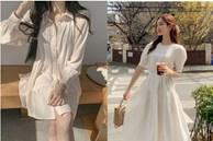 Hè đến là gái Hàn lại diện đủ kiểu váy trắng siêu trẻ xinh và tinh tế, xem mà muốn sắm cả 'lố' về nhà