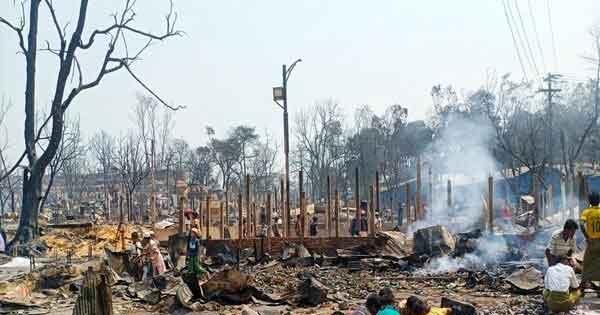 Trại tị nạn ở Bangladesh cháy lớn, hàng trăm người chết và mất tích-1