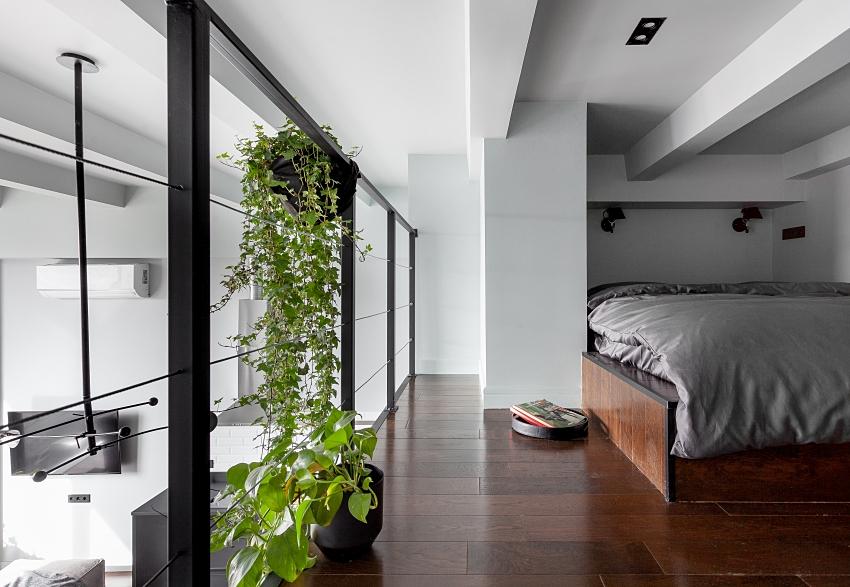 Ngôi nhà màu đen trắng thiết kế gác lửng hiện đại, chỉ rộng 15m2 nhưng ánh sáng tự nhiên vẫn tràn ngập không gian-7