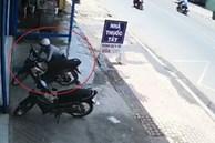 Trộm xe máy trong 10 giây