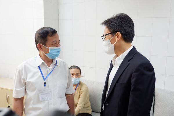 Phó Thủ tướng Vũ Đức Đam tiêm thử nghiệm vắc xin Covid-19 của Việt Nam-3
