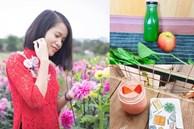 9x Nam Định chia sẻ bí quyết làm sinh tố, nước ép rau củ quả sạch-tươi-ngon, vừa đẹp da lại vừa giữ dáng