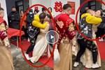 Clip: Sốc cảnh chị gái cô dâu cưỡng hôn chú rể ngay trong đám cưới-1