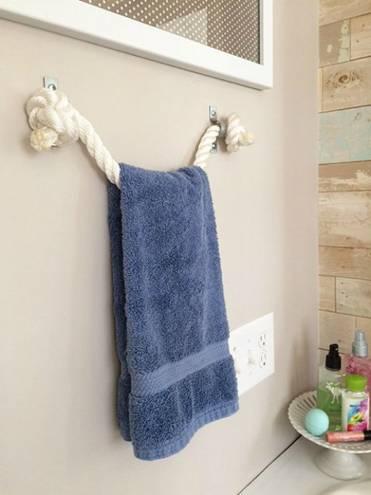 Ý tưởng thiết kế phòng tắm thân thiện với môi trường:Thảm lót chân bằng đá haygiá đỡ khăn bằng dây cũng không độc đáo bằng việc lắp thêm lò sưởi-8