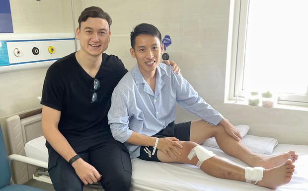 Văn Lâm bất ngờ trở về Việt Nam, có hành động ấm lòng với Hùng Dũng-1