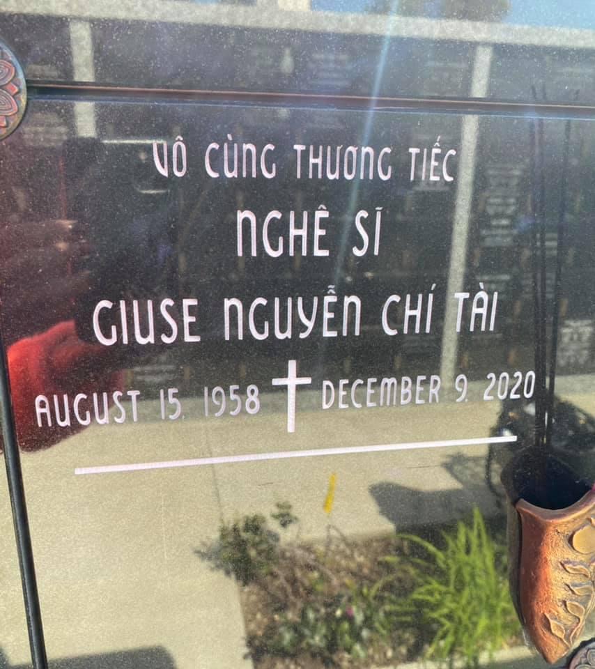 Ca sĩ Phương Loan hé lộ điểm thay đổi tại nơi an vị của NS Chí Tài ở Mỹ, đọc đến lời nhắn nhủ mà xót xa-2