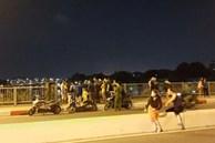 Thanh niên nhảy cầu khi đang cãi nhau với bạn gái ở TP.HCM đã tự bơi vào bờ