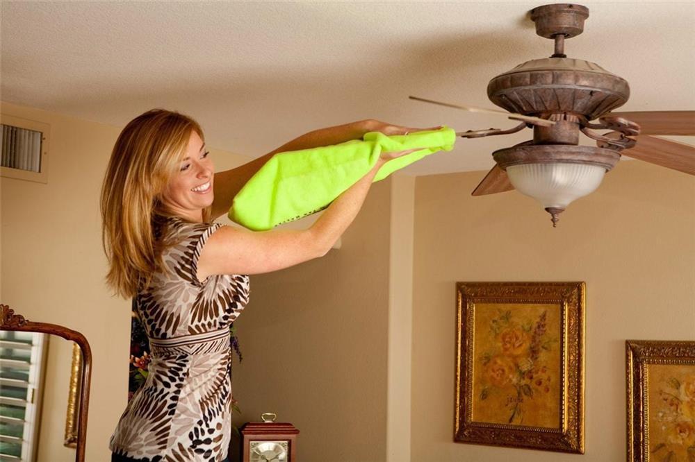 Cách chọn công suất quạt trần phù hợp với diện tích căn phòng để tiết kiệm điện khi hè về-3
