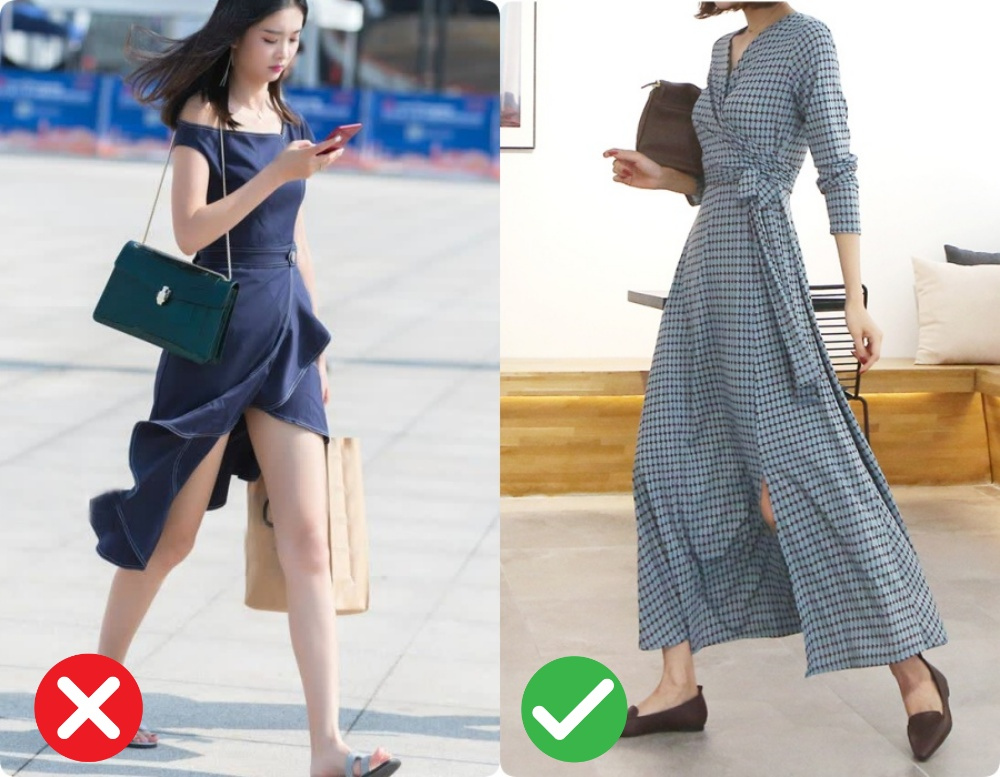 3 điều tối kị khi diện váy xẻ hack chân dài, chị em cần nhớ kỹ nếu không muốn hớ hênh vô duyên-3