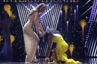 Hoa hậu khóc, ngất xỉu trong khoảnh khắc đăng quang