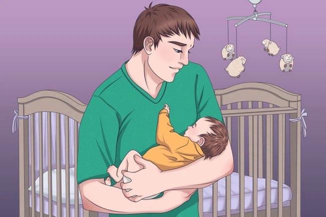 Với 4 kỹ thuật đơn giản, con sẽ đi vào giấc ngủ sau vài giây mà bố mẹ không cần mất công dỗ dành-1