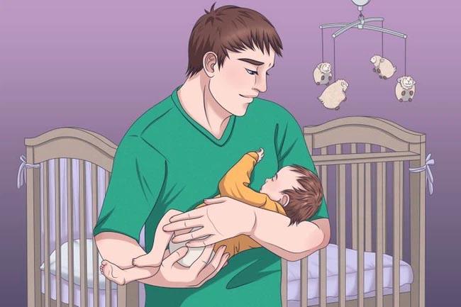 Với 4 kỹ thuật đơn giản, con sẽ đi vào giấc ngủ sau vài giây mà bố mẹ không cần mất công dỗ dành-3