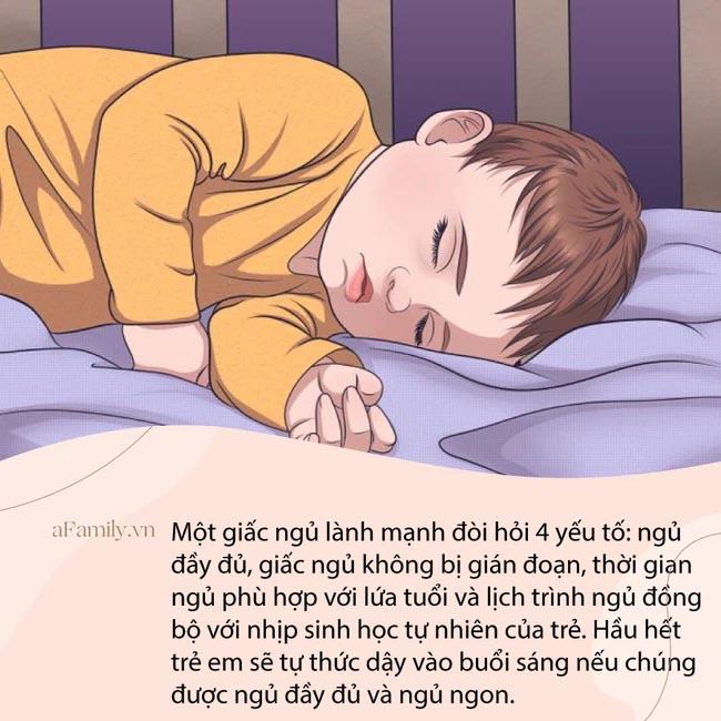 Với 4 kỹ thuật đơn giản, con sẽ đi vào giấc ngủ sau vài giây mà bố mẹ không cần mất công dỗ dành-4
