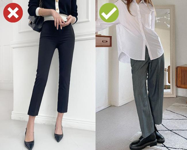 5 mẫu quần dài mua chỉ phí tiền: Mặc lên kém sành điệu mà còn bị dìm dáng tệ hại-3
