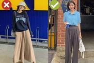 5 mẫu quần dài mua chỉ phí tiền: Mặc lên kém sành điệu mà còn bị dìm dáng tệ hại