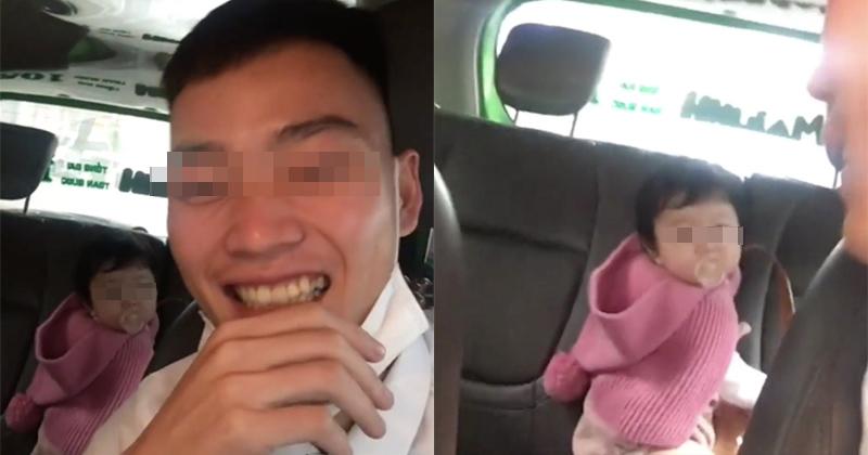 Người mẹ bị tài xế quay clip bỏ quên con nhỏ trên taxi: Anh ấy hoàn toàn bịa đặt-1