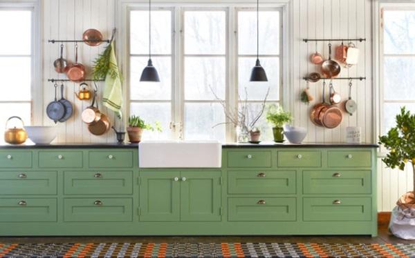 9 màu sơn xanh lá cây cần để mắt tới giúp căn bếp nhà bạn luôn mát mẻ mà không bao giờ bị lỗi mốt-11