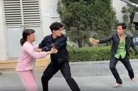 Cảnh xô xát của Diễm Loan và tình trẻ trong 'Hướng dương ngược nắng'