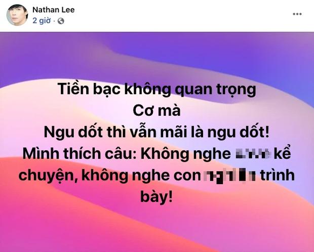 Quản lý vừa đáp trả Nathan Lee, Ngọc Trinh bức xúc lên tiếng luôn nhưng sao văn mẫu thấy quen quen?-4