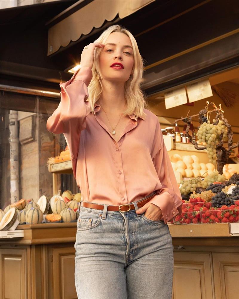5 kiểu áo sơ mi chân ái của gái Pháp, lên đồ đơn giản cũng đạt tròn 100 điểm tinh tế-1
