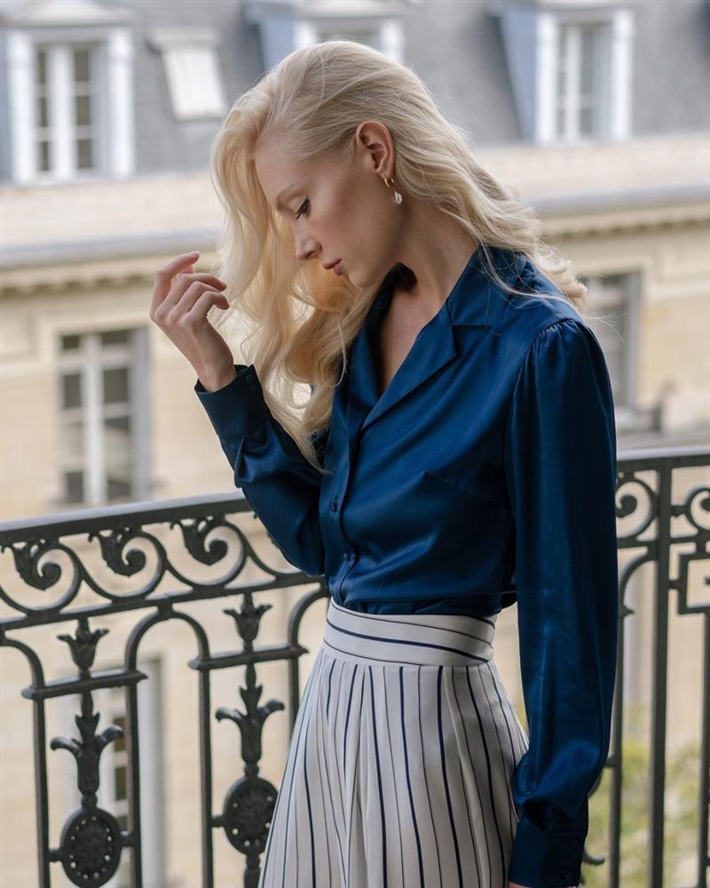 5 kiểu áo sơ mi chân ái của gái Pháp, lên đồ đơn giản cũng đạt tròn 100 điểm tinh tế-4