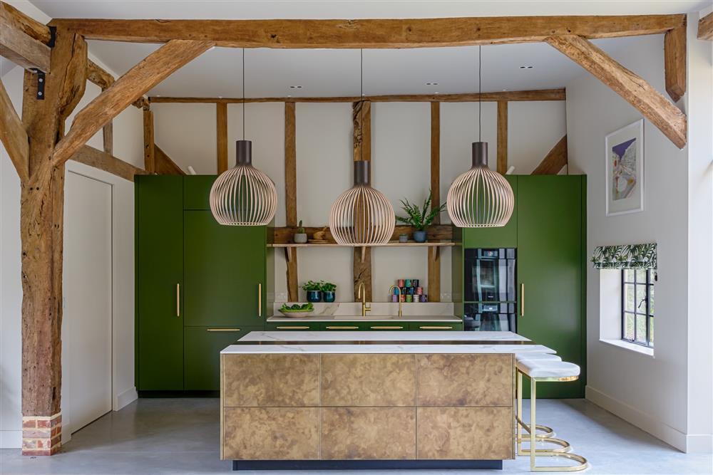 9 màu sơn xanh lá cây cần để mắt tới giúp căn bếp nhà bạn luôn mát mẻ mà không bao giờ bị lỗi mốt-1