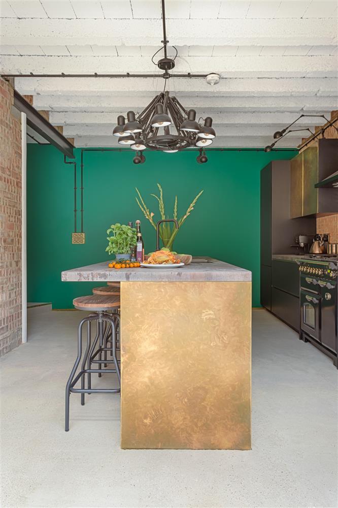 9 màu sơn xanh lá cây cần để mắt tới giúp căn bếp nhà bạn luôn mát mẻ mà không bao giờ bị lỗi mốt-3