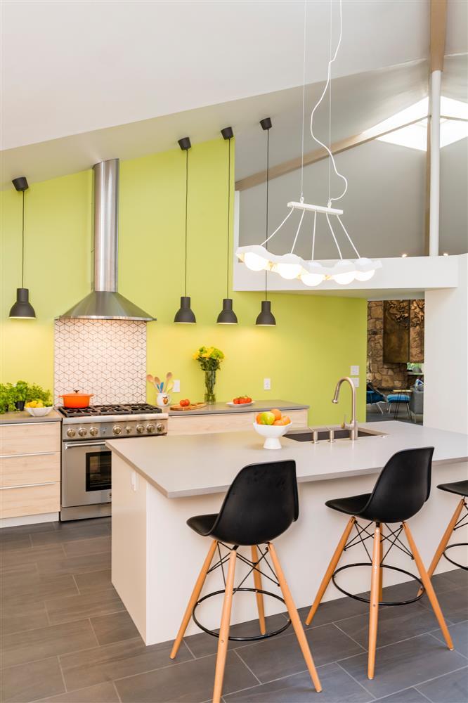 9 màu sơn xanh lá cây cần để mắt tới giúp căn bếp nhà bạn luôn mát mẻ mà không bao giờ bị lỗi mốt-9