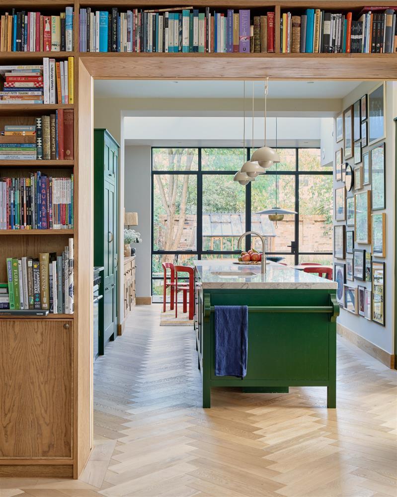 9 màu sơn xanh lá cây cần để mắt tới giúp căn bếp nhà bạn luôn mát mẻ mà không bao giờ bị lỗi mốt-5