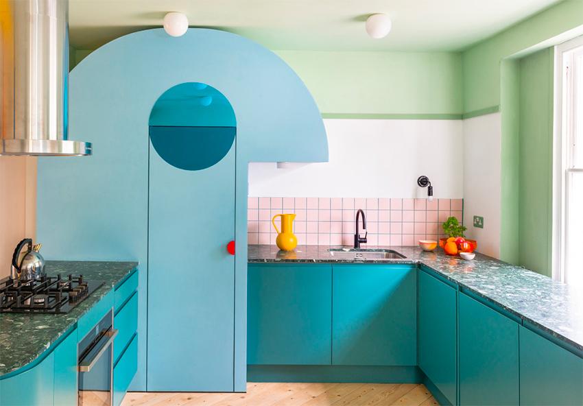 Ngôi nhà của người làm trong ngành thời trang trông sẽ như thế nào? Căn hộ hình học 17 màu chủ đạo sẽ khiến bạn phải choáng ngợp-6