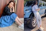 Đàm Thu Trang lên đồ đơn giản mà ngày càng trẻ trung và thời thượng, đôi khi còn xịn như gái Hàn