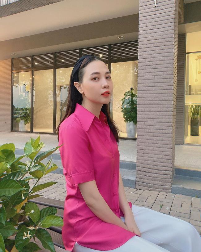 Đàm Thu Trang lên đồ đơn giản mà ngày càng trẻ trung và thời thượng, đôi khi còn xịn như gái Hàn-4