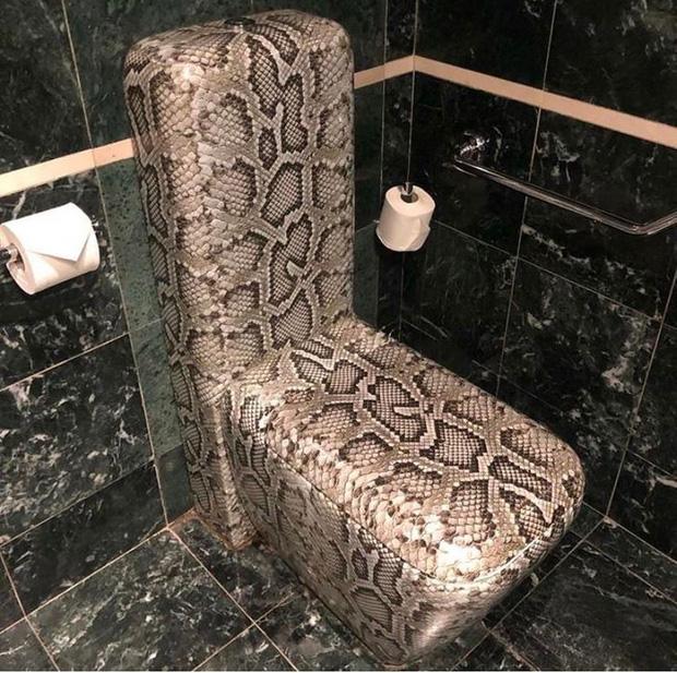 Những chiếc toilet có khả năng trêu ngươi cực cao, ai nhìn cũng phải thốt lên: Ủa, là sao?-7