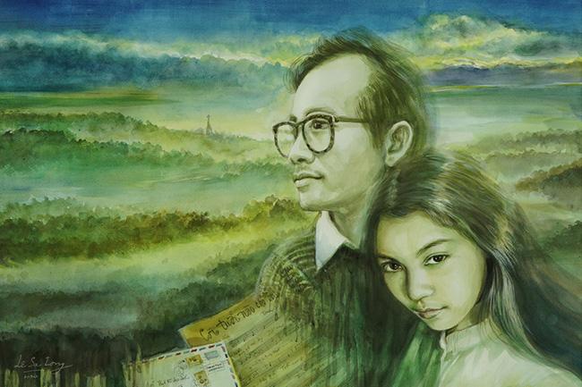 Tình yêu đậm sâu của nhạc sĩ Trịnh Công Sơn với cô gái Huế xinh đẹp và bài học buông tay có 1-0-2-3