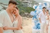 Lệ Quyên đón sinh nhật lãng mạn như lễ cưới, vỡ oà nhắn nhủ lời đặc biệt đến bạn trai kém 12 tuổi Lâm Bảo Châu