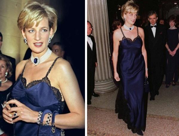 4 lần Công nương Diana diện đồ táo bạo: Chiếc váy o ép vòng 1 cũng không sexy bằng lần phá luật Hoàng gia-5