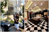 Bên trong biệt thự 2 mặt tiền của anh trai Bảo Thy: Tiện nghi như khách sạn, rộng đến mức đạp xe được trong nhà
