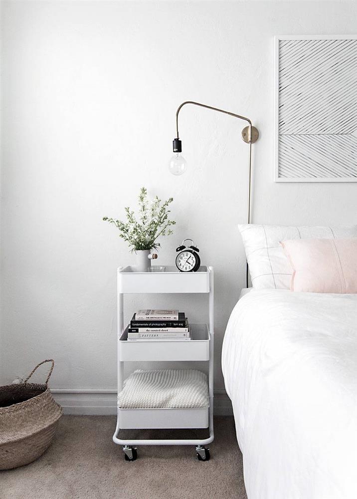 Ý tưởng thiết kế phòng ngủ thông minh, tạo không gian sạch sẽ và gọn gàng-1