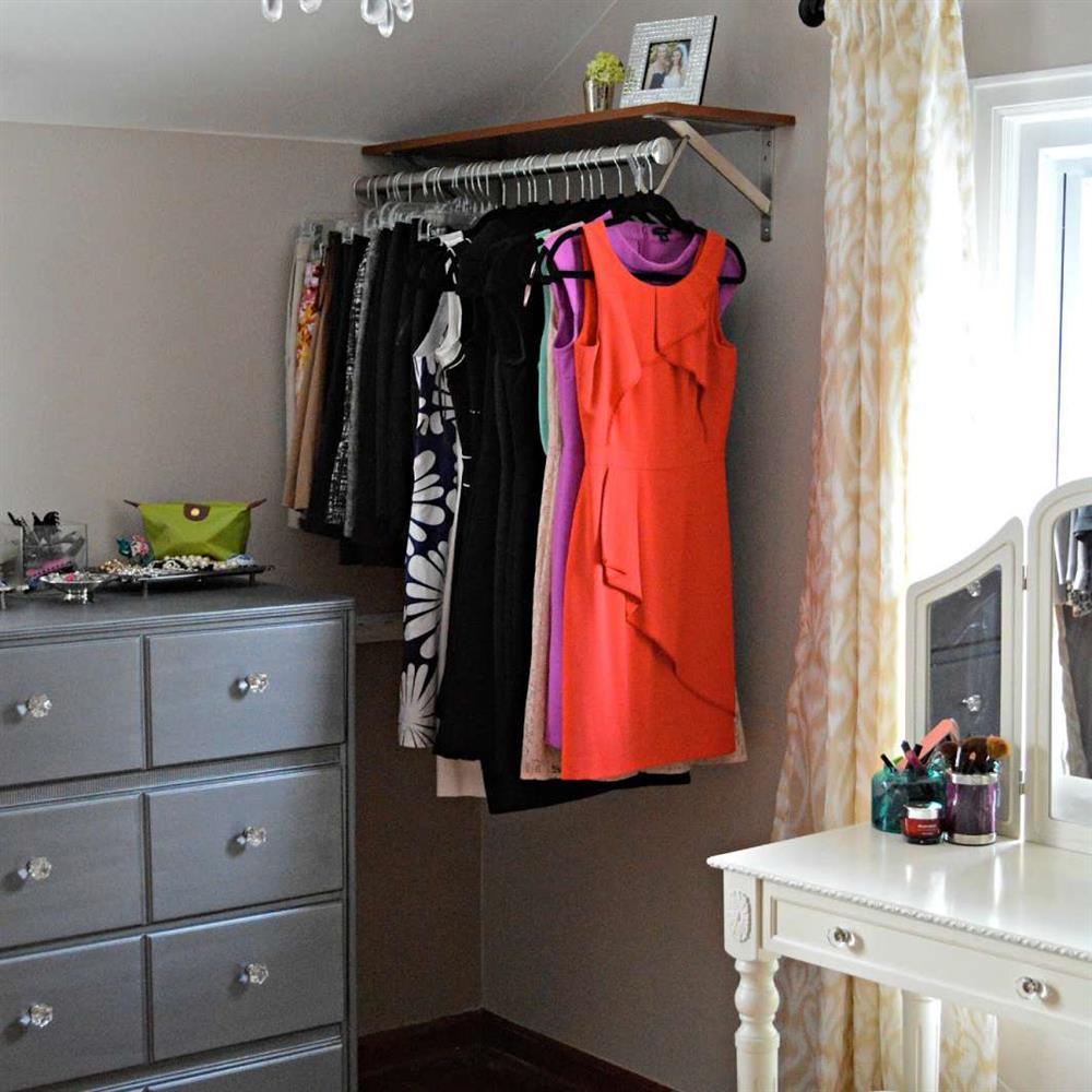 Ý tưởng thiết kế phòng ngủ thông minh, tạo không gian sạch sẽ và gọn gàng-12
