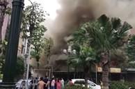 Cháy lớn thiêu rụi quán lẩu ở huyện Đông Anh, Hà Nội