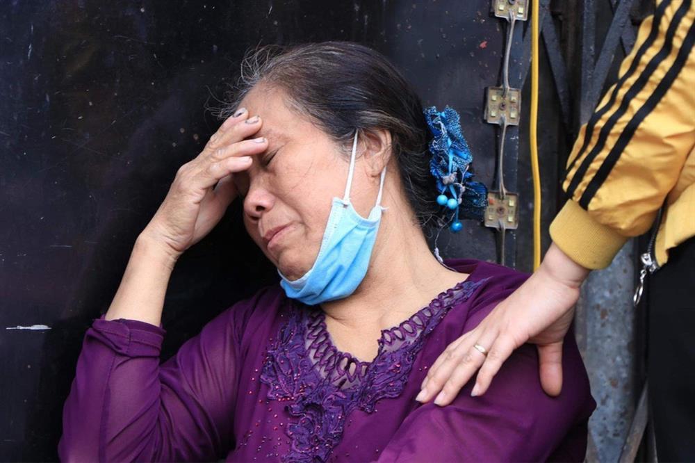 Nỗi đau người mẹ trong vụ cháy 4 người chết ở Hà Nội-1