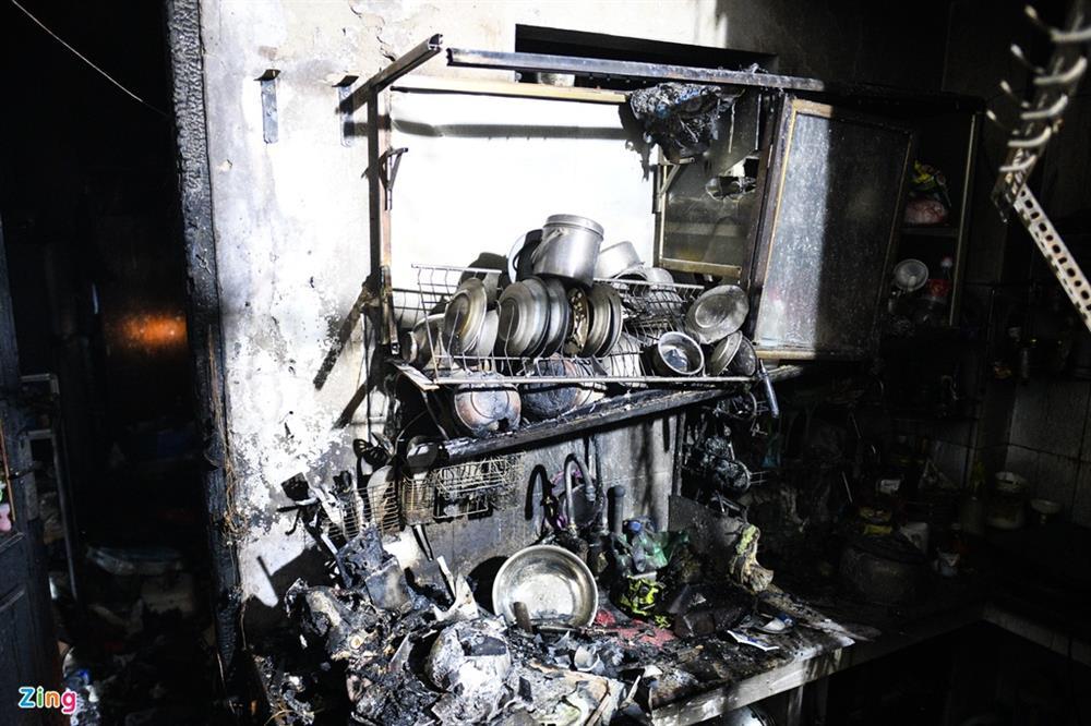Nỗi đau người mẹ trong vụ cháy 4 người chết ở Hà Nội-2