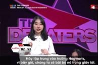 Xuất hiện trên sóng truyền hình VTV7, nữ sinh Hà Nội gây bão vì xinh ơi là xinh, ngó sang thành tích học tập lại càng bái phục